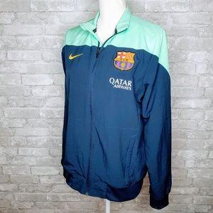 Nike Qatar Airways Soccer Dri-Fit Zip Jacket - S